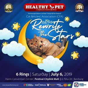 Chelzmainecoon menjadi Sponsor untuk CFA Cat Show di Bandung